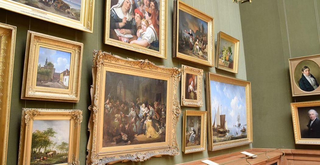 Het romantische Teylers Museum is het oudste museum van Nederland. Foto: DagjeWeg.NL, Eline Visscher.