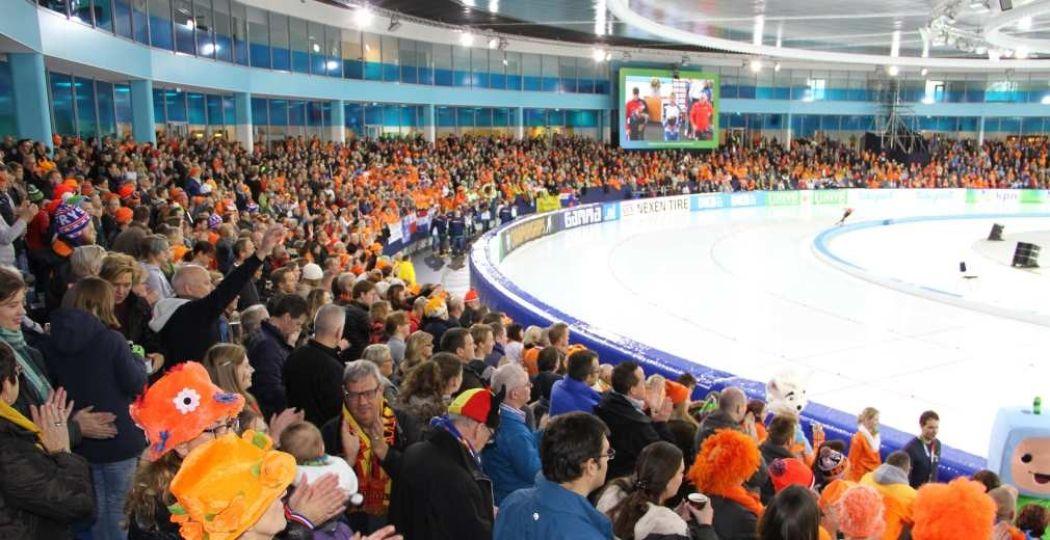 Kom schaatsen in het vernieuwde ijsstadion. Foto: Thialf