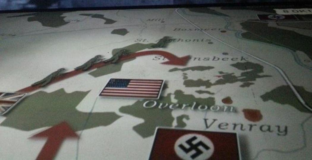 De expositie vertelt het verhaal over de militaire operatie én over de duizenden slachtoffers. Foto: Oorlogsmuseum Overloon