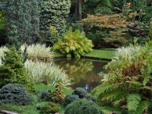 Wandel door de schitterende tuinen. Foto: Trompenburg