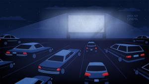 Cars (NL) - Drive-in bioscoop