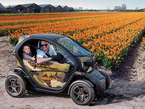 Toer door de bloemenvelden met Renzy.nl. Foto: Renzy.nl.
