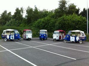 Toeren met een tuktuk door Amersfoort