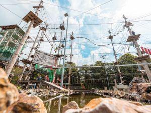 Klaar voor een avontuur? Foto: Adventure City Rotterdam