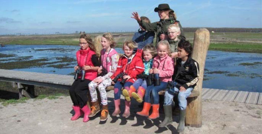 Het nieuwe natuurgebied 't Roegwold wordt met een feestelijke open dag geopend. Foto: Staatsbosbeheer