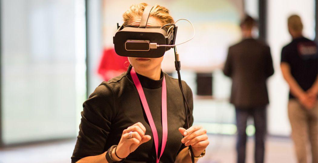 Virtual reality is niet meer weg te denken uit de recreatiesector. Foto: The VR Room Utrecht