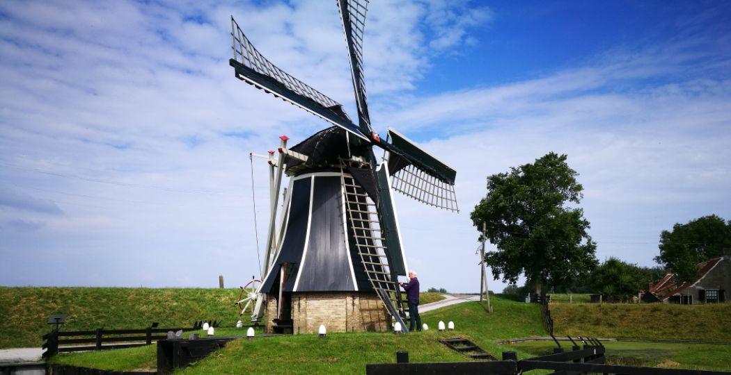 Wandel virtueel door het buitenmuseum van het Zuiderzeemuseum en speur mee in Streetview Bingo. Foto: DagjeWeg.NL, Coby Boschma.