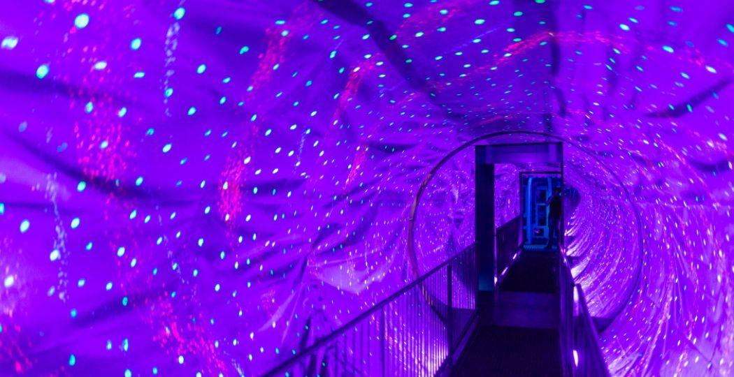 Ga een dagje uit! Trotseer de Space Tunnel bij Ripley's Believe It or Not op de Dam of doe iets anders leuks. Foto: Ripley's Believe It or Not.