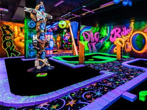 GlowGolf Hollywood Café Amsterdam
