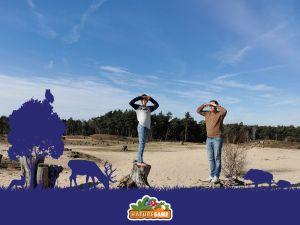 Maak originele foto's tijdens de Nature Game. Foto: Online Social Games