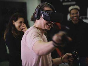Foto: The VR Arcade Amsterdam © Julian du Perron