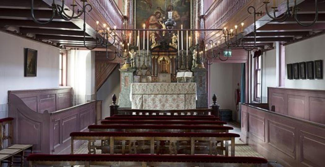 De zolderkerk. Foto: Arjan Bronkhorst