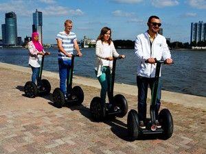 Samen op stap. Foto: Segway Rotterdam.