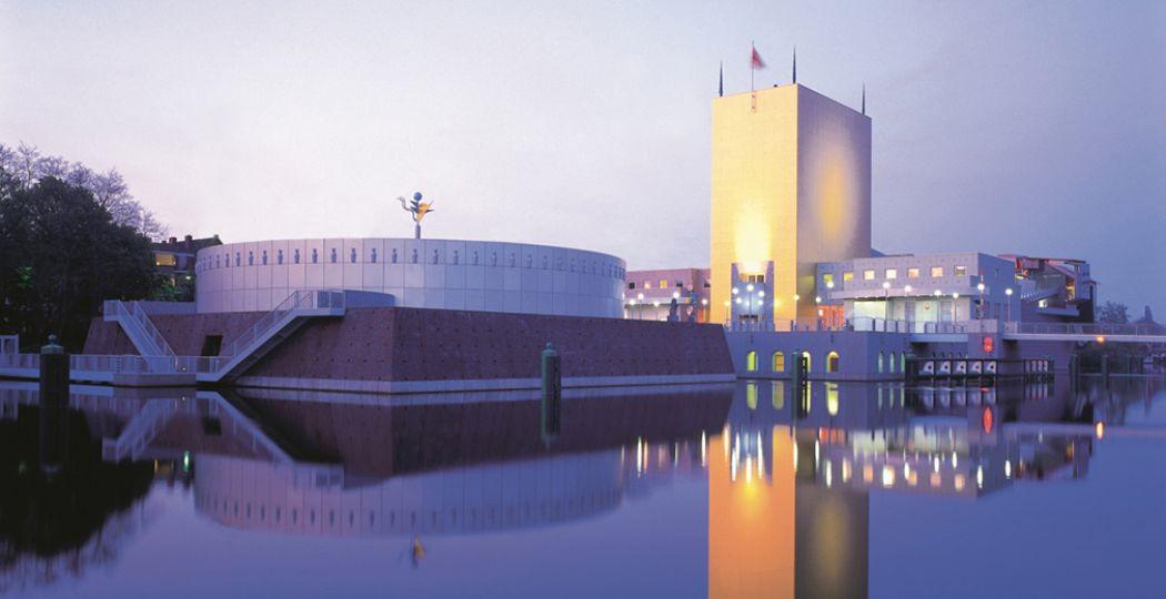 Het Groninger Museum bestaat 25 jaar en viert feest! Foto: Groninger Museum © Ralph Richter.