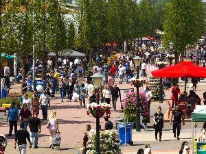 Impressie van de kleurrijke Food Markt. Foto: De Bazaar Beverwijk.