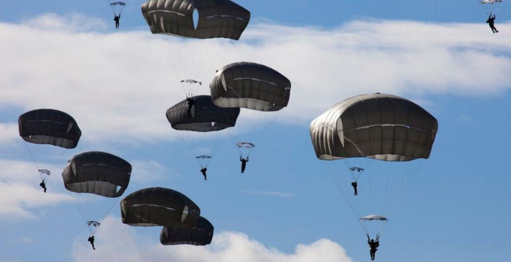 Een mooi beeld van de Airborne Luchtlandingen. Foto: Gemeente Ede