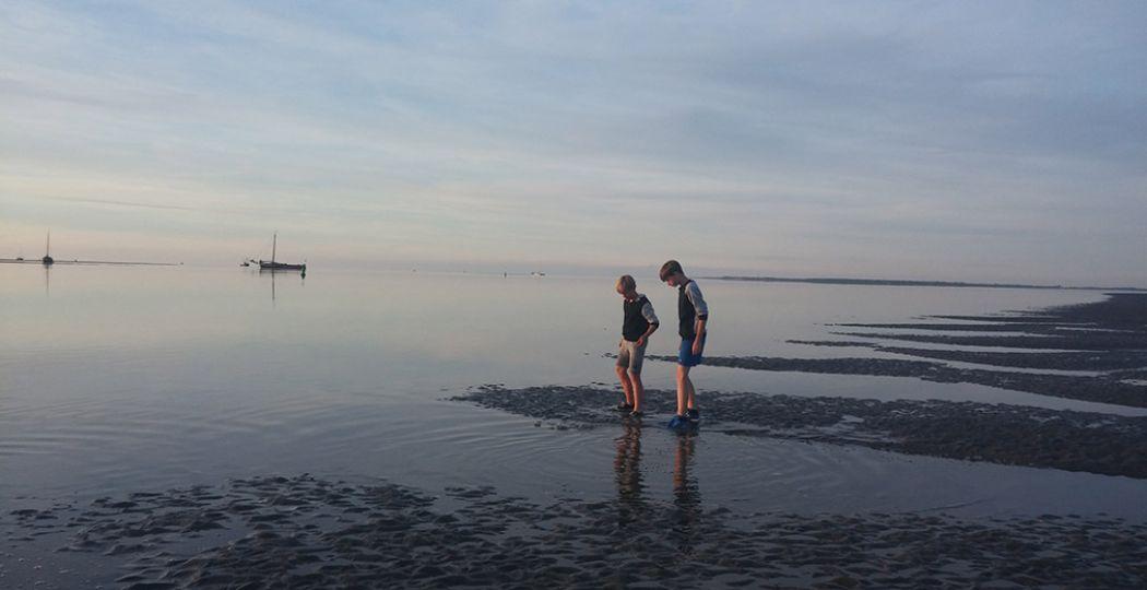 Wadlopen is de strijd aangaan tegen de natuur. Foto: DagjeWeg.NL.