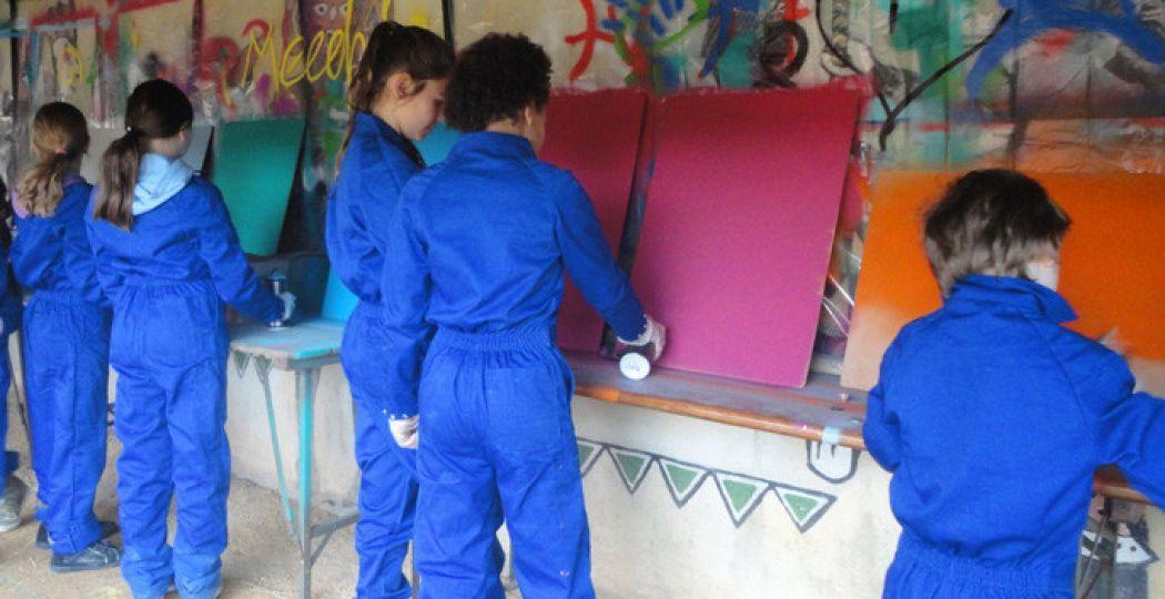 Laat je creativiteit zien tijdens de graffiti workshop! Foto: Afrika Museum.