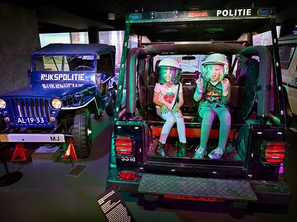 Ben jij geschikt voor politiewerk? Foto: Veiligheidsmuseum PIT © DigiDaan.