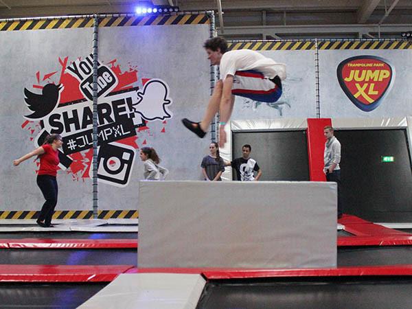 Springen bij Jump XL. Foto: LOL Aalsmeer.