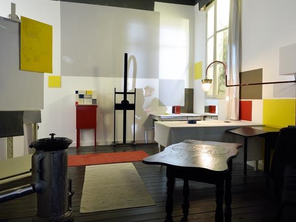 Het Parijse atelier. Foto: Mike Bink.