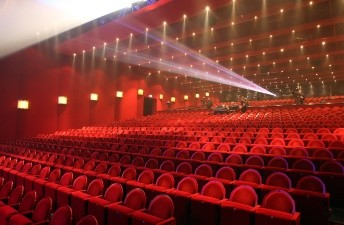 Filmpje pakken in Crown Cinema.