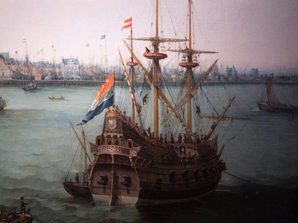 Zo was Hoorn in 1650.