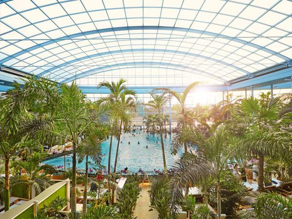 Een paradijsje: het Palmenparadies.