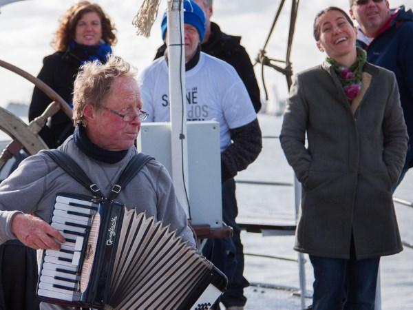 Live muziek zorgt voor een gezellige noot. Foto: Hollands Glorie.