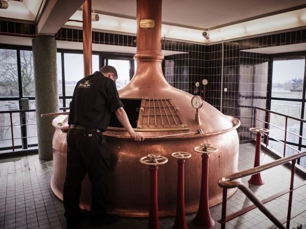 Wat is de temperatuur van het bier? Foto: Hertog Jan Brouwerij.