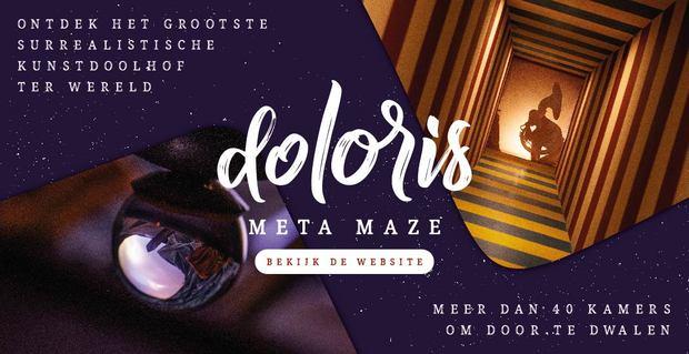 Bezoek Doloris, het grootste kunstdoolhof ter wereld!