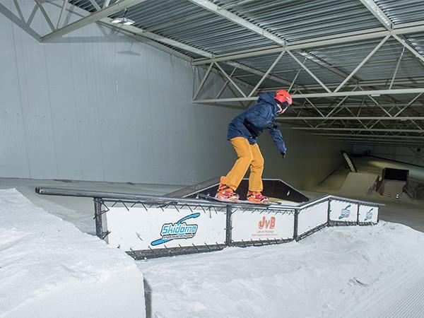Freestyle in het Funpark. Foto: Skidôme Ruchpen.