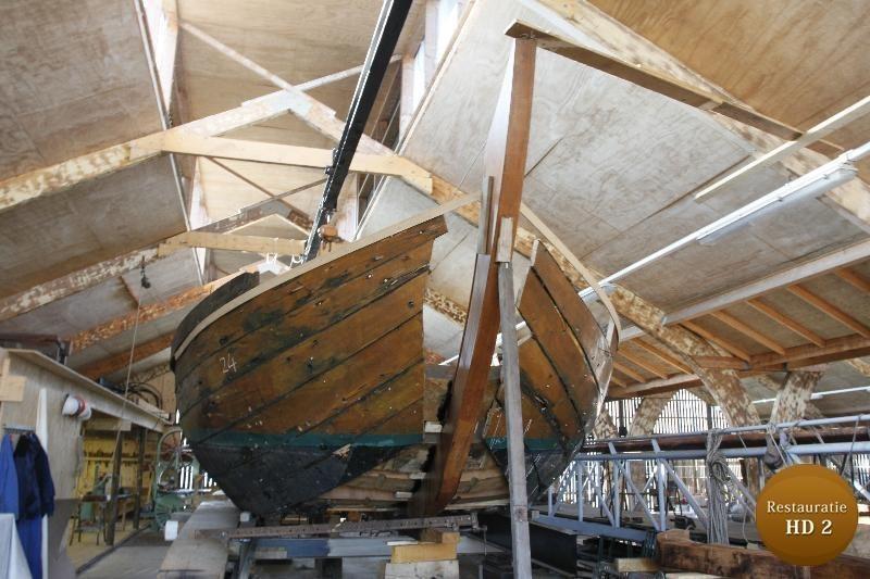 Restauratie van een boot