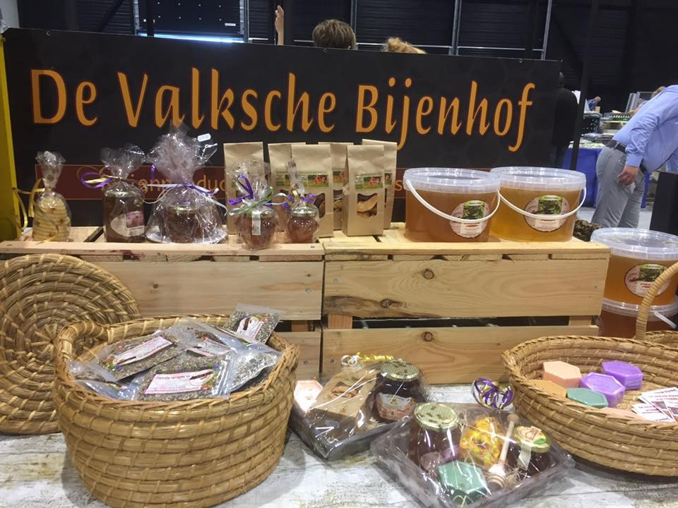 Zoete honing op de landgoedmarkt. Foto: Henny Blokhuis