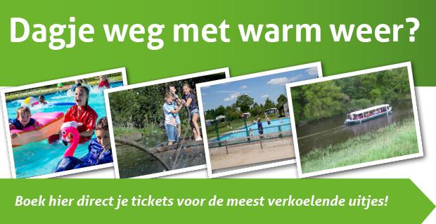 Dagje weg met warm weer? Boek hier direct je tickets!