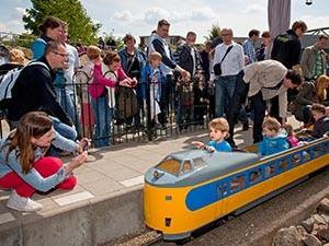 Rijd mee in een treintje. Foto: Spoorwegmuseum.