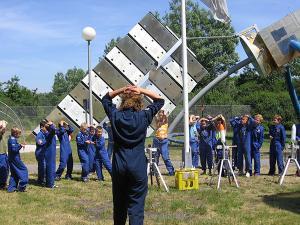 Lanceer een raket! Foto: Space Expo.