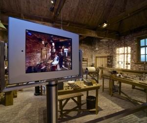 De werkplaats van Philips. Foto: Philips Museum.