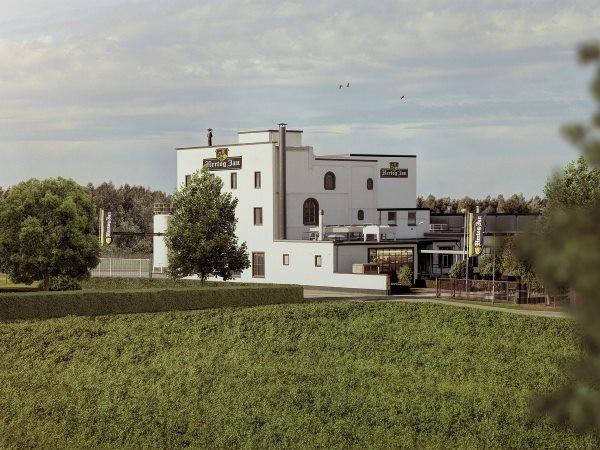 Hertog Jan Brouwerij vanaf de buitenkant. Foto: Hertog Jan Brouwerij.