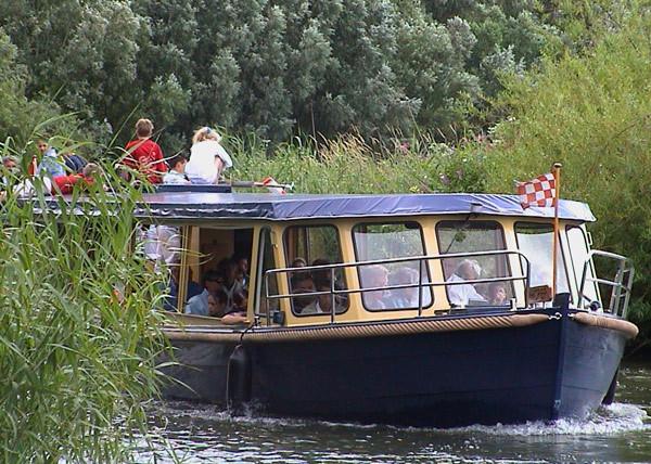 Boottocht door de Biesbosch