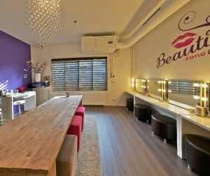 De studio van BeautyZone.