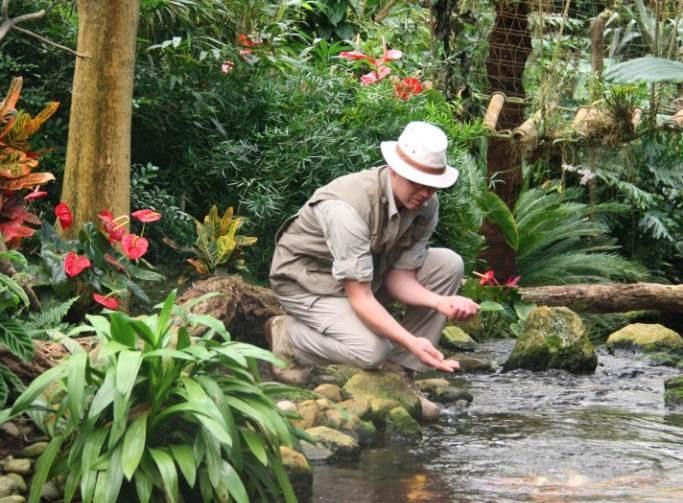 Volg een speurtocht door de jungle. Foto: Orchideeën Hoeve.