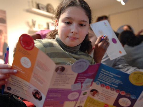 Kinderen leren meer over andere culturen. Foto: Joods Historisch Kindermuseum.