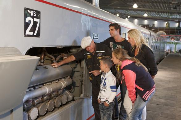 Leer van alles over treinen. Foto: Spoorwegmuseum.