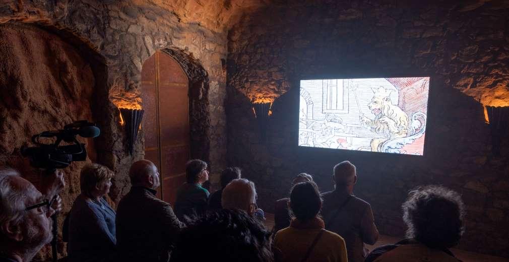 Neem plaats in een van de twee bioscoopzalen van Hof van Nobel. Foto: VOSSEN © Joris Herregods