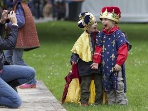 Kleine ridders.