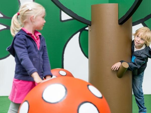 Lekker spelen in de wereld van nijntje. Foto: Emmely van Mierlo en Corné Clemens