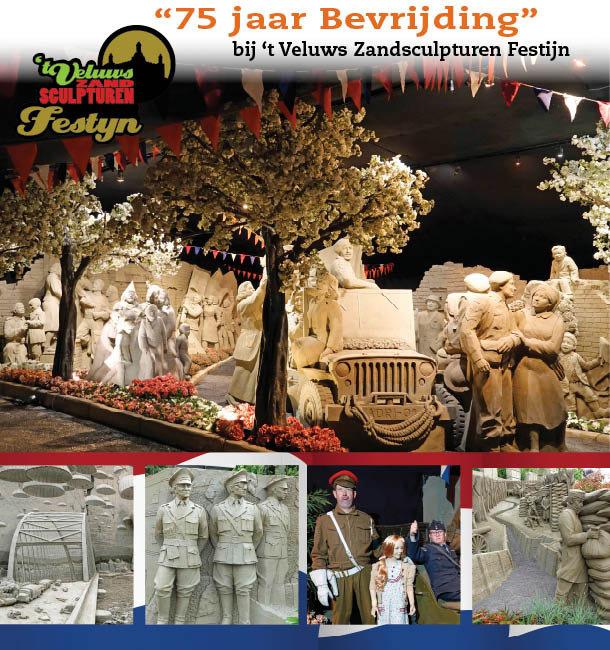 Zandsculpturen bewonderen in Garderen!