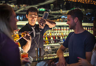 Professionele bartenders
