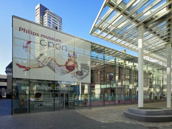Het gebouw van het museum. Foto: Philips Museum.